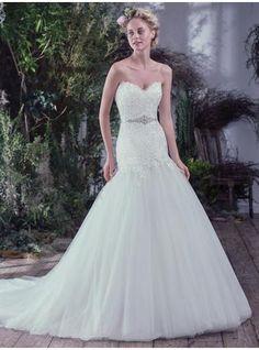 abiti da sposa da sposa principessa in tulle