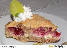 Jahodový koláč s vločkami recept - TopRecepty.cz
