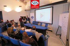 Il gruppo #sky presenta davanti al dott. Bruno e al dott. Pierantozzi. #mastersbs #laghirada