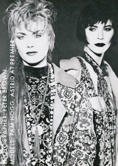 For fashion-crazed kids in the '80s, London's Covent Garden Blitz nightclub was the place to be and the name of a revolutionary magazine: a style bible for the New Romantic club-goers.