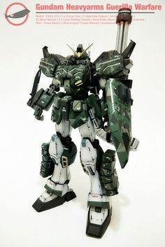 Gundam Heavyarms Guerilla Warfare  My latest paint job.