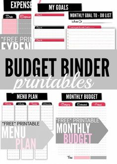 Looking for some free budget binder printables? These cute but functional financial worksheets will help you keep your financial life on track!