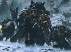 There are the Viking-like Space Wolves… | Community Post: 25 Reasons Space Marines Are Awesome