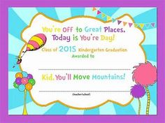 Image result for free printable preschool diploma certificate