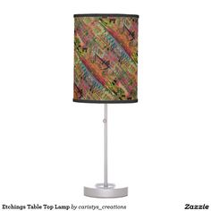 Illuminate your home with Table lamps from Zazzle. Choose from our pendant, tripod or table lamps. Find the right lamp for you today! Etchings, Pendant Lamp, Table Lamp, Lighting, Top, Home Decor, Table Lamps, Decoration Home, Room Decor