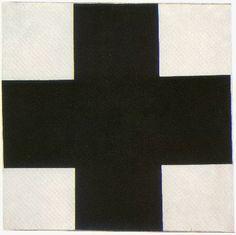 Kazimer Malevich Black Cross futurism futurist Russian State Museum St. Petersburg 1923