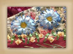 I ❤ ribbon embroidery . . .www.craftyattic.com show you how to embroider these beautiful silk ribbon aster daisy flowers. This straightforward video shows you all you will need to create these beautiful embellishments.