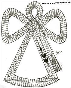 Lacemaking, Bobbin Lace, Symbols, Letters, Christmas, Art, Bobbin Lacemaking, Christmas Ornaments, Bobbin Lace Patterns