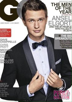 Prepare Yourself For Some SERIOUS Hotness: The Fault In Our Stars' Ansel Elgort Graces The Cover Of GQ!