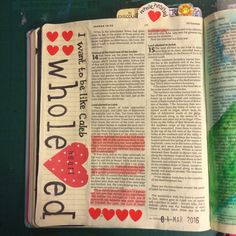 I was a little concerned about carrying on through the book of Joshua as basically the story continues on with the sharing out the land! I figured that illustrating it would basically just involve… Joshua Bible, Book Of Joshua, My Bible, Bible Art, Scripture Verses, Bible Scriptures, Bible Lessons, Art Journal Inspiration, Art Journals