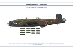 Halifax Load 2 by Claveworks on DeviantArt Navy Aircraft, Ww2 Aircraft, Military Aircraft, Air Fighter, Fighter Jets, Handley Page Halifax, Camouflage, Lancaster Bomber, Ww2 Planes