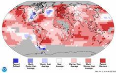 16-01-2015 El planeta deja atrás el año más caluroso desde finales del siglo XIX   PUES MENOS MAL QUE LO DEJA ATRÁS PORQUE AQUÍ EN SÃO PAULO NOS ESTAMOS DERRITIENDO