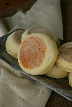 Homemade English Muffins Recipe ~ delicious, moist, soft, and perfect... not to mention cheaper and they taste better!