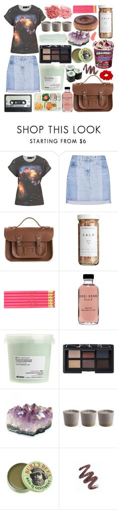 """Late Nights In My Car"" by paper-towns ❤ liked on Polyvore featuring Your Eyes Lie, AG Adriano Goldschmied, The Cambridge Satchel Company, CB2, Sally Hansen, Bobbi Brown Cosmetics, Davines, NARS Cosmetics, Burt's Bees and Mary Kay"