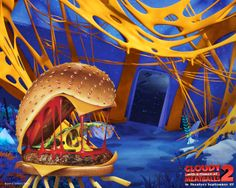 Cloudy With A Chance Of Meatballs 2 Wallpaper Free For Desktop Shirley Black