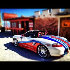 Martini Porsche Boxster #porsche #boxster http://www.windblox.com #windscreen…