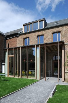 Extension Designs, House Extension Design, Timber Architecture, Glass Facades, House Extensions, Garden Office, New Builds, Cottage, Mansions