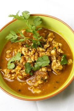 [thailändisch] Nam Prik Aong - ein Currydip mit Tomate und Huhn | Foodina