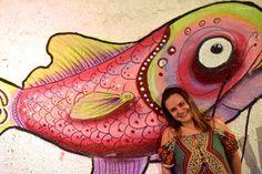 Eu e o peixe fora d'Água!