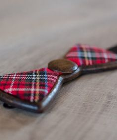 Royal Tartan - Drewniana Mucha od Wooden.Life - WoodenLife - Muchy męskie