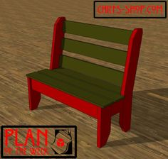 Plan of the Week: Porch Bench