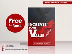 Something to help you end the year on a high note 📈 Increase Your Value by Emmanuel Mathebula is now available as a free eBook. Your Values, Free Ebooks, Public, Notes, Report Cards, Notebook