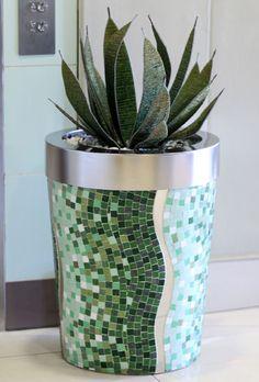 Obbligato mosaic planter - www.obbligato.co.za
