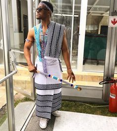 Xhosa man traditional attire