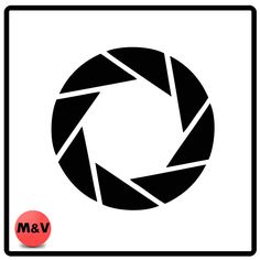 Portal, Aperture Labs Game logo Stickers X2, Laptop/Xbox/Ps4.