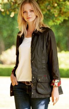 The Barbour jacket on my wish list