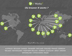 ITWORKS est présent dans plusieurs pays