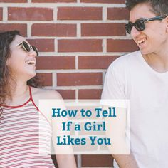 Ways to know if a girl is really into you without asking her directly. Dating Advice For Men, Dating Tips, To Tell, Chemistry, Like You, Female, Guys, Women, Women's
