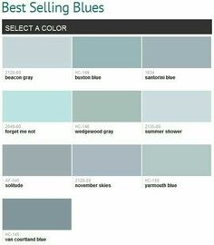Gray Blue Paint Colors benjamin moore gray and blue paint samples for the interior of the