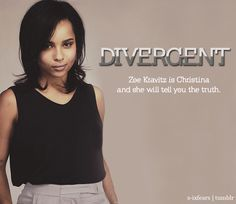 Christina AKA Lenny Kravitz's' (Cinna from The Hunger Games) daughter! She is also Jennifer Lawrence's BFF! BRB FANGIRLING!