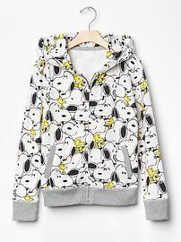 GapKids + Peanuts® printed zip hoodie