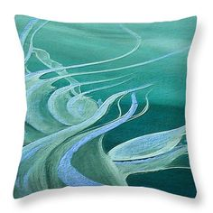 Teal Expression Throw Pillow for Sale by Faye Anastasopoulou Throw Pillow, print,home,accessories,so Living Room Turquoise, Bedroom Turquoise, Bedroom Sitting Room, Diy Home, Home Decor, Picture Gifts, Small Room Decor, Fancy Houses, Pattern Pictures