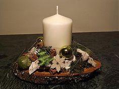 Dekorácie - Vianočný svietniček - 3330365