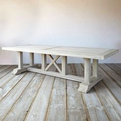 A spacious addition to outdoor entertaining, this rustic dining table is constructed from solid, sturdy teak and hand-finished by skilled carpenters. Each table arrives pre-treated with our Instant Grey + Teak Shield finish, which gives the wood a silvery, aged patina and prevents wear and tear from sun, heat, or rain.- Teak, Instant Grey + Teak Shield finish- SVLK-certified teak- Indoor or outdoor use- Clean with water and mild, non-abrasive detergent- Treat seasonally with Teak Shield…