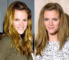 Brooklyn Decker... don't get it twisted..I'm not saying these women aren't beautiful.  They are!  Just showing that what we see  compare ourselves to in magazines isn't always real.