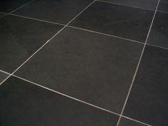 Black Slate Tile Flooring for kitchen