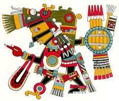 Tezcatlipoca, god of the night sky, were among the most powerful.