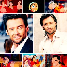 Disney Dreamcast | Hugh Jackman as Gaston