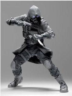 Figura Resident Evil. Vector, 18 cms. NECA Foto 1