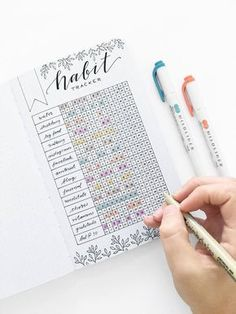 Bullet Journal Ideas | If you have a hard time staying organized, then you'll have a hard time being productive. Use these bullet journal organization hacks to keep your life organized and improve your productivity. The BEST bullet journal ideas for staying organized at all times. You won't find any other planner or organizer ideas that are as good as the bullet journal layout ideas. bullet journal pixels