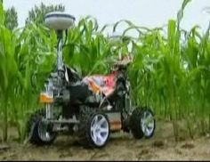 Netherlands' Wageningen University recently held a Field Robot Event, where students and engineers tested machines as they performed simple farming tasks like spraying detergent on weeds.