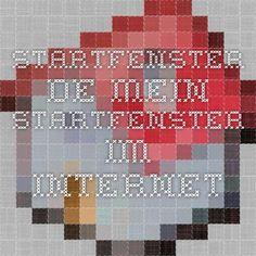 Startfenster.de - Mein Startfenster im Internet