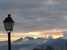 Tramonto sulle Apuane S. Pellegrino in Alpe. Garfagnana