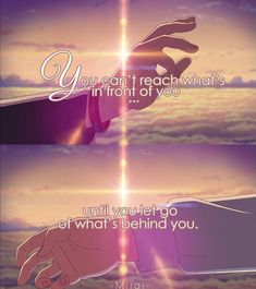 <Kimi no nawa> But if you let go, you can never get it back.