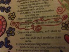 Psalm 51:6