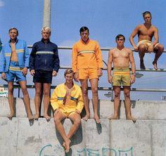 Surfing boys 60's